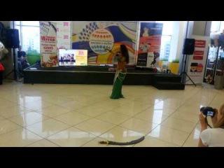 Алхена, Импровизация с саблей 2015 Sword dance