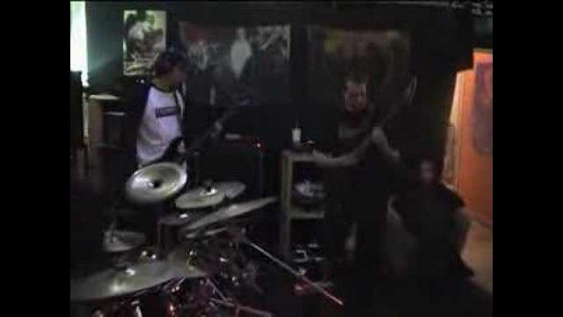 Marduk The Legion drumer (Emil drum rehersal)