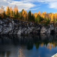 Поездка в Мраморный каньон, Рускеала