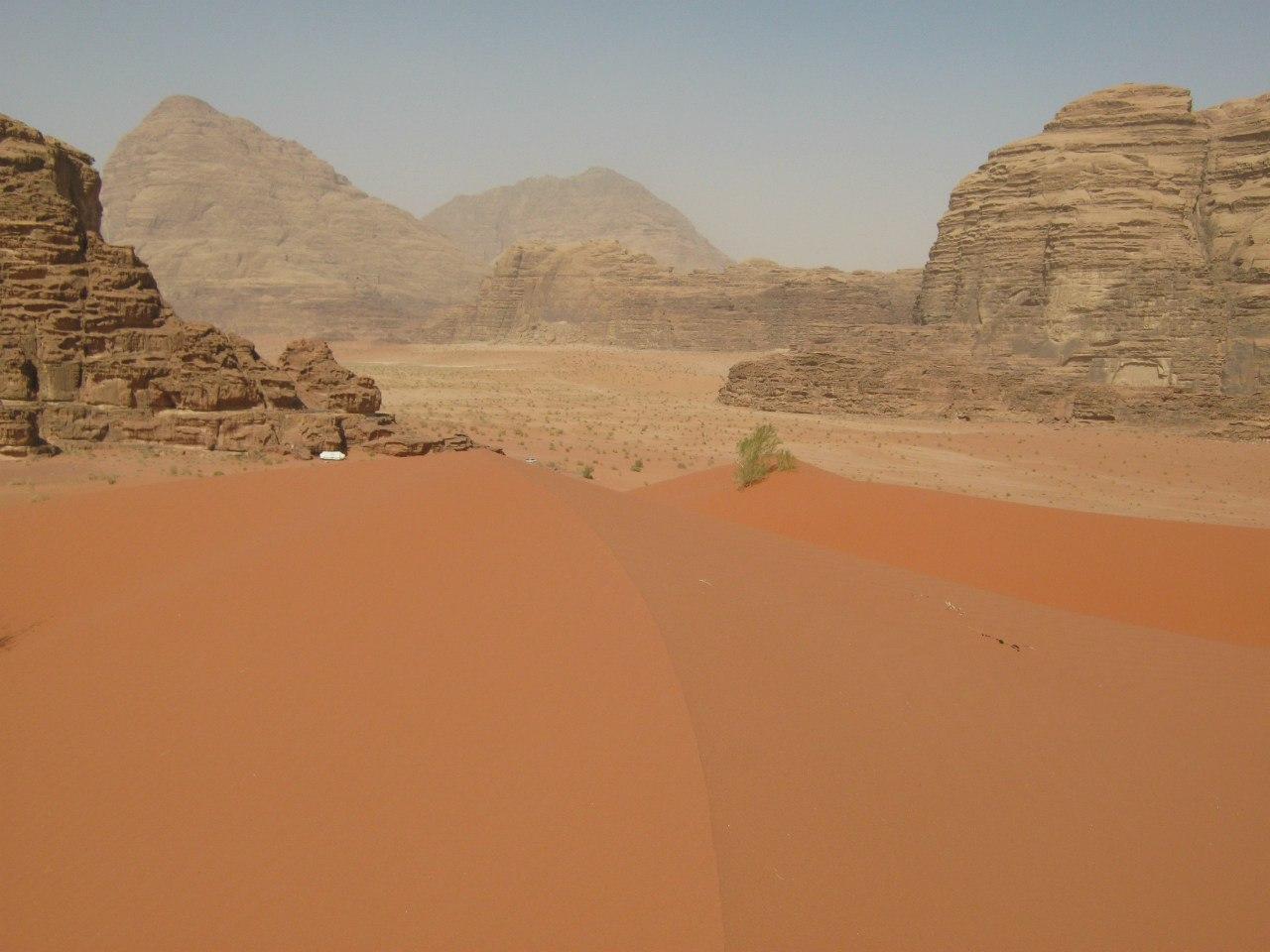 кемпинг и дюна в Вади Рам