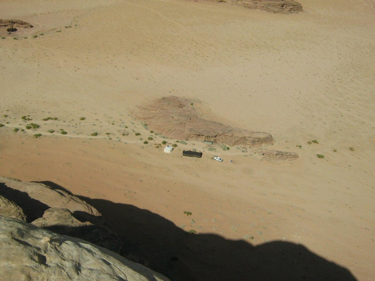 Бедуинский кемпинг в Вади Рам
