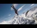 On the edge! Skydive Jokke Sommer - Freefly The World HD 2015 Swiss Alps