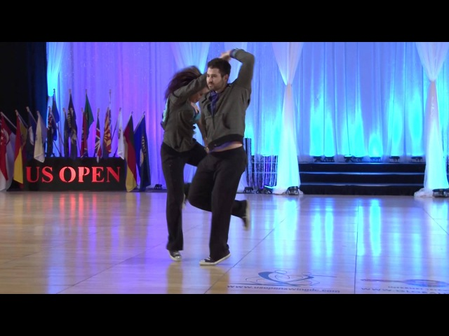 Ben Morris and Jennifer Deluca - 2013 US Open Classic Division Finals