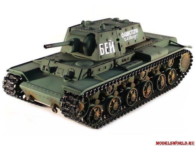 Обзор модели радиоуправляемый танка Taigen Russia KV-1 HC 2.4GHz 116 (TG3878-1HC)