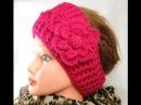 DIY Crochet Headband and Crochet Flower, Tutorials