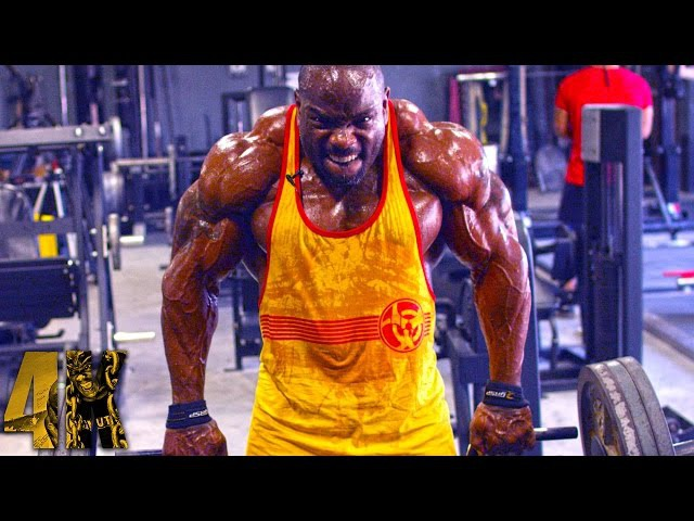 Johnnie O. Jackson's ULTIMATE DELT DAY – 4K Resolution! [ FULL WORKOUT ]