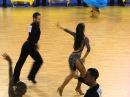 Jevgenijs Suvorovs - Tina Bazykina, Cambrils 2013, WDSF GrandSlam latin, 1. round - samba