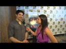Colin Morgan and Katie McGrath at SDCC 2012
