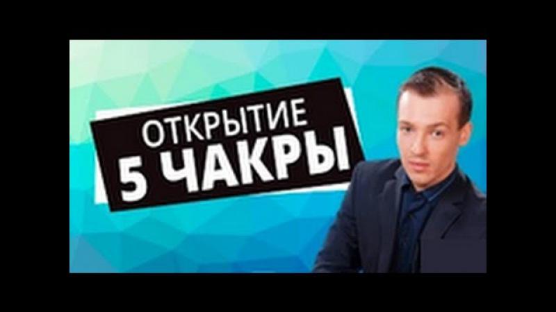 Николай Пейчев - Открытие 5 чакры центр общения и творчества [Академия Целителей]