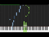 The Pink Panther Theme - Henry Mancini Piano Tutorial (Synthesia)