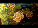 Батик Batik Silk painting Kimono ציור משי 絹の絵画
