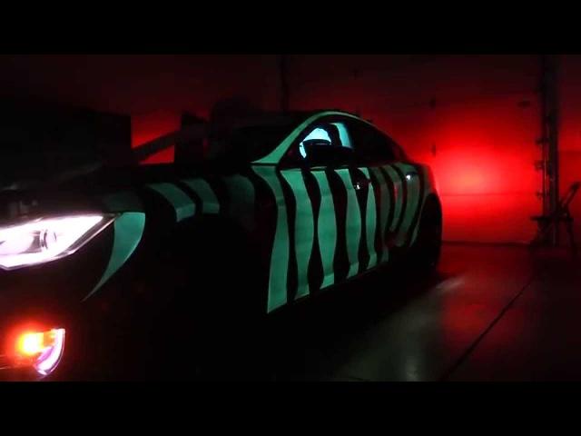 Glowing Tesla Model S - LumiLor Lit Car HD