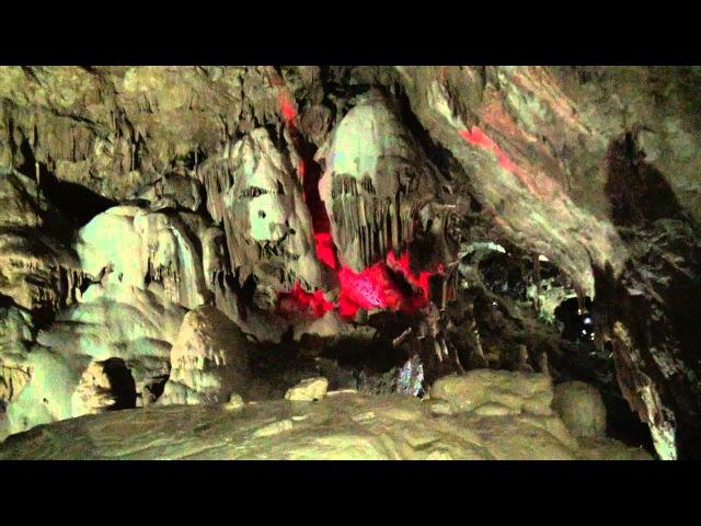 Абхазия Новоафонские пещеры mpg