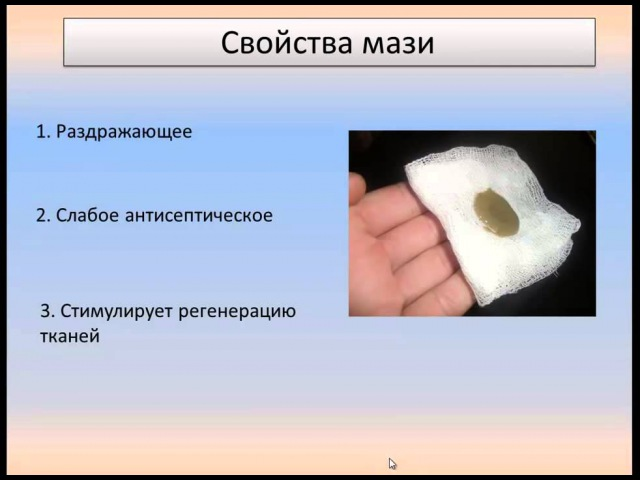 Мазь Вишневского - всё о препарате