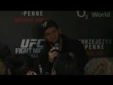 Майрбек Тайсумов - Фрагменты с пресс-конференции после UFC Berlin (озвучено Убойным Переводом)