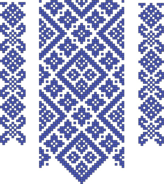 Схема вишиванки.
