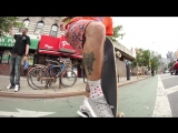 Skater rides and destroys Kanye West Adidas Shoes - Yeezy Boost 350s