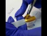 Гель-краска с липким слоем Collection Alena Kapriz Гель-краска Gold Queen c липким слоем