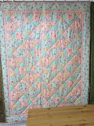 Новое лоскутное одеяло из