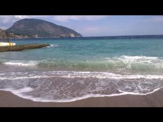 пляж г.гурзуф крым