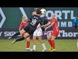 Goalkeeper Michelle Betos scores equalizer for Thorns FC vs. FC Kansas City  Match Highlight