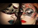 Masquerade Mask Makeup Tutorial / Art Nouveau Inspired Make-up Look