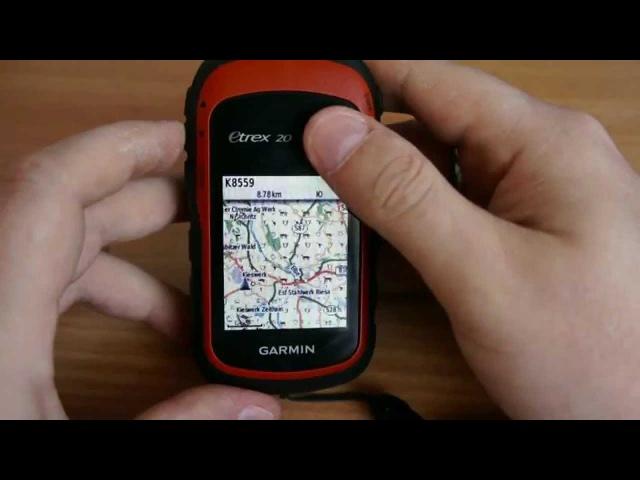 Garmin Etrex 20 обзор функций