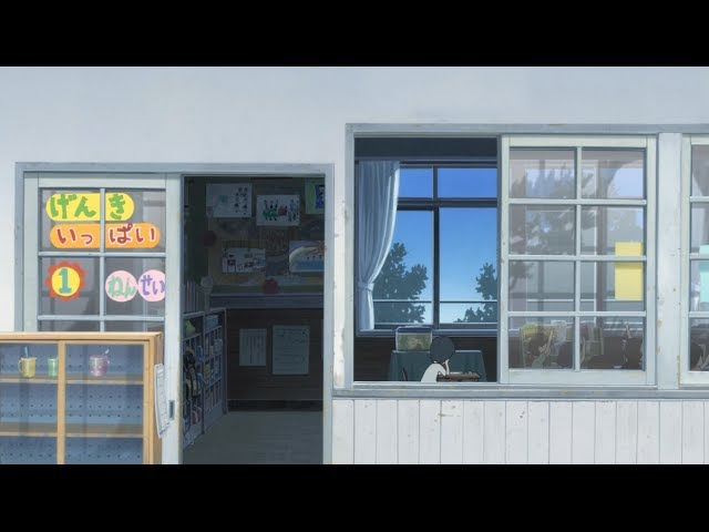 Wolf Children (2012) - The Lateral Tracking Shot