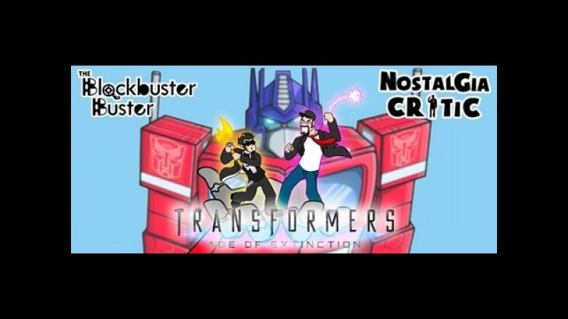 Ностальгирующий Критик и Разрушитель Блокбастеров: Трансформеры 4 (rus vo)