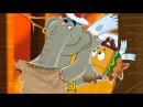 Приключенческий мультик для детей Летающие звери серия 7 СОКРОВИЩЕ