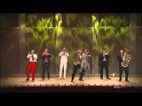MNOZIL BRASS MEDLEY Jackson Thriller Stevie Wonder Bee Gees Staying Alive Henry Manchini etc
