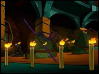 Черепашки ниндзя 4 сезон 8 серия мультфильмы для детей