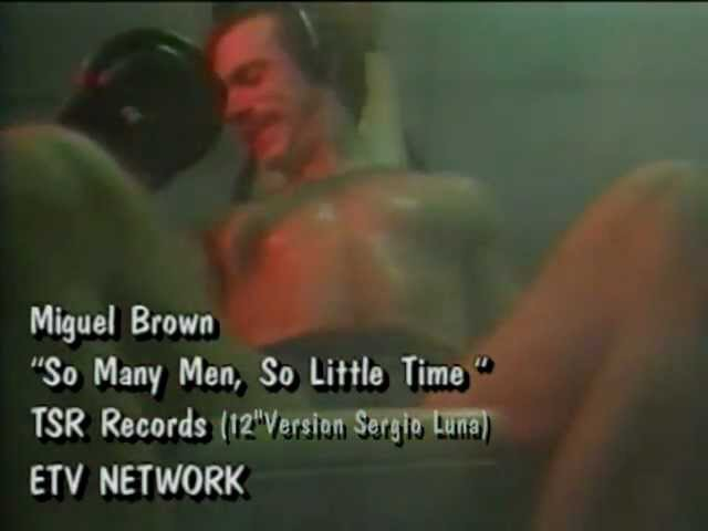 Miquel Brown - So Many Man So Little Time ( Long Version ) HQ Video Mix By Sergio Luna
