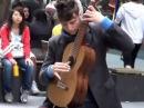 Гитарист виртуоз. Игра на гитаре.