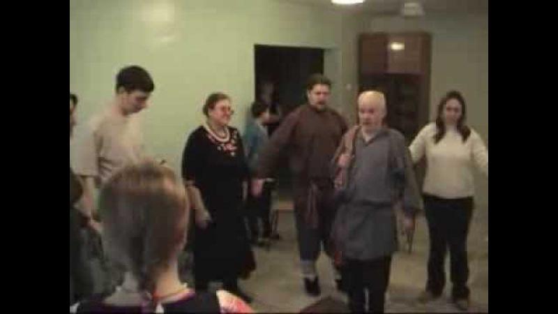 Игра Ай, бабы нет и фольклорный театр. А.Г.Кайманаков и Дядя Ваня.(2006)
