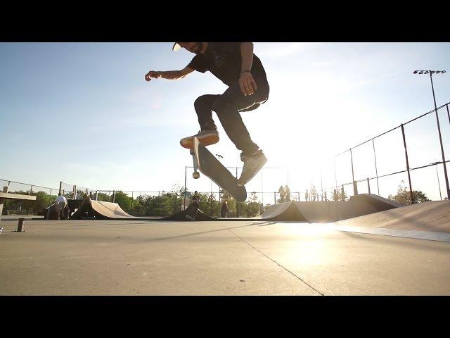 Skateology: Hardflip late kickflip with Joe Vizzaccero