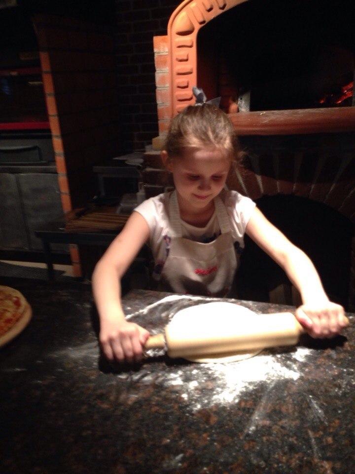 мастер-класс поприготовлению пиццы