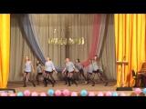 Танец девочек 11 класса Лицея 1, 2015 год)
