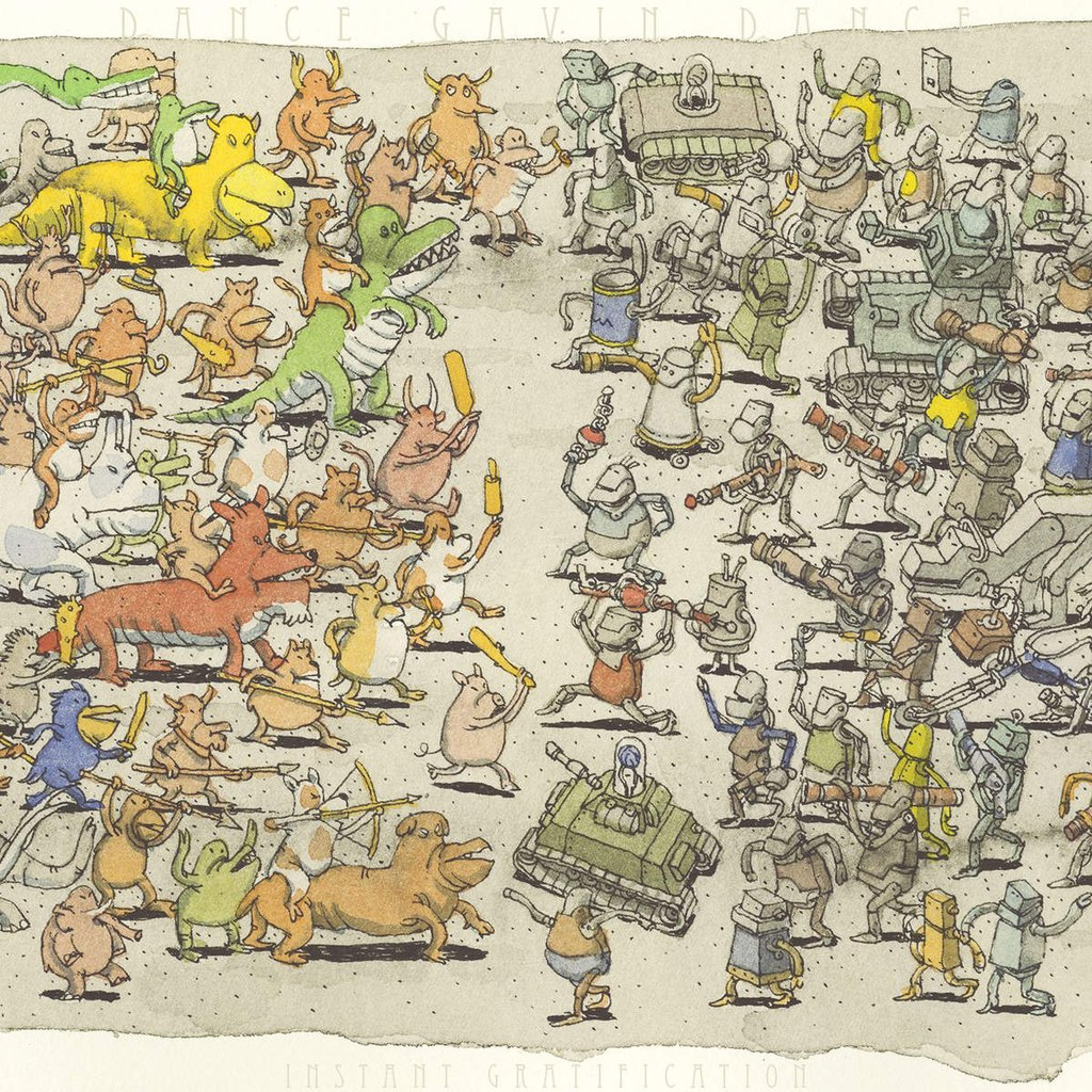 Dance Gavin Dance – We Own the Night (New Song)
