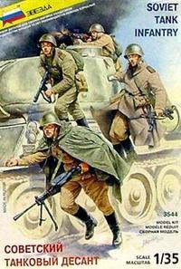Советский танковый десант, Звезда