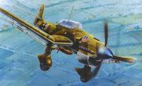 Немецкий пикирующий бомбардировщик юнкерс ju-87 b2. арт. 7256, Звезда