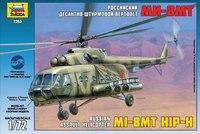 Сборная модель. российский десантно-штурмовой вертолет ми-17, Звезда