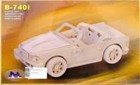 """Сборная модель """"бмв"""". арт. р067, VGA (Wooden Toys)"""