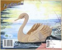 """Сборная модель """"лебедь"""". арт. м034, VGA (Wooden Toys)"""