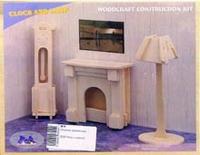 Р009 часы с лампой, VGA (Wooden Toys)