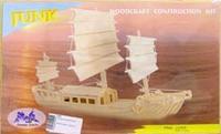"""Сборная модель """"корабль джонка"""". арт. р045, VGA (Wooden Toys)"""