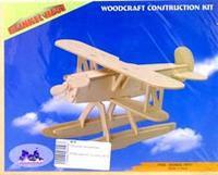 """Сборная модель """"самолет-хенкель не51"""". арт. р058, VGA (Wooden Toys)"""