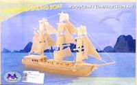 "Сборная модель ""парусник"". арт. р049, VGA (Wooden Toys)"
