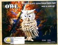 """Сборная модель """"сова"""". арт. е038, VGA (Wooden Toys)"""