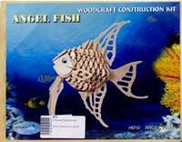 """Сборная модель """"ангельская рыбка"""". арт. н010, VGA (Wooden Toys)"""
